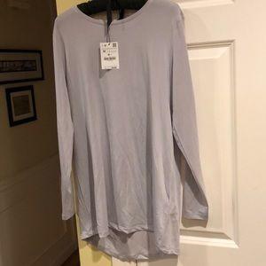 🆕Zara Longer Length Tunic. 2 Grey  Medium